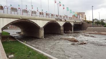 فیلم سیلاب تبریز